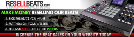 Sell Beats Header Sample