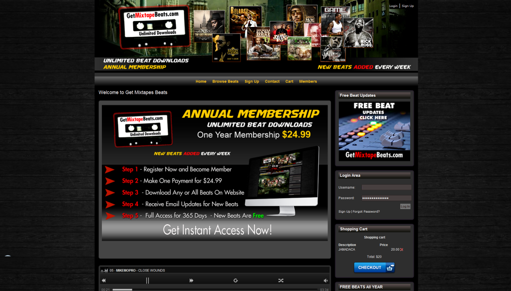 Beat Websites to Sell Your Own Beats -